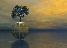 κόσμος δέντρων στοκ εικόνες