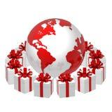 κόσμος δώρων Στοκ εικόνα με δικαίωμα ελεύθερης χρήσης