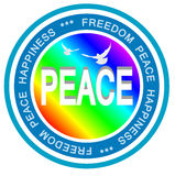 κόσμος ειρήνης Στοκ φωτογραφία με δικαίωμα ελεύθερης χρήσης