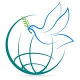 κόσμος ειρήνης Στοκ Εικόνα