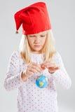 Κόσμος εκμετάλλευσης νέων κοριτσιών στα χέρια Στοκ Εικόνες