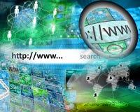 Κόσμος Διαδικτύου Στοκ φωτογραφία με δικαίωμα ελεύθερης χρήσης