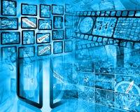 Κόσμος Διαδικτύου Στοκ Εικόνα