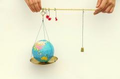 κόσμος ισορροπίας Στοκ εικόνες με δικαίωμα ελεύθερης χρήσης