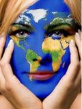 κόσμος κοριτσιών Στοκ φωτογραφία με δικαίωμα ελεύθερης χρήσης