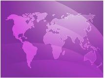 κόσμος κυμάτων χαρτών Στοκ εικόνες με δικαίωμα ελεύθερης χρήσης