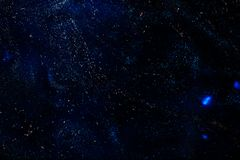 Κόσμος κόσμου με τα αστέρια και τα νεφελώματα Στοκ Εικόνες