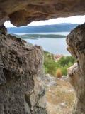 κόσμος μέσω της πέτρας Στοκ εικόνες με δικαίωμα ελεύθερης χρήσης