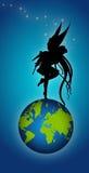 κόσμος νεράιδων απεικόνιση αποθεμάτων