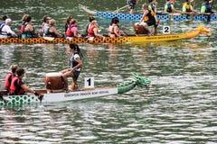 κόσμος νικητών φυλών του Μακάο δράκων πληρωμάτων λεσχών της Κίνας πρωταθλημάτων βαρκών του 2010 7ος Στοκ φωτογραφίες με δικαίωμα ελεύθερης χρήσης