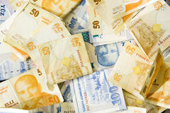 κόσμος νομίσματος Στοκ Φωτογραφία