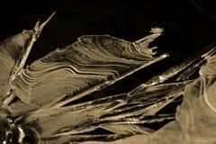 Κόσμος πάγου και χιονιού στοκ φωτογραφία