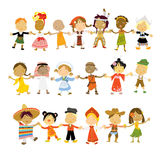 κόσμος παιδιών Στοκ φωτογραφία με δικαίωμα ελεύθερης χρήσης