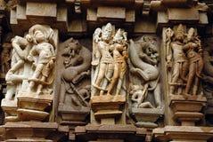 κόσμος περιοχών khajuraho της Ινδί&a Στοκ Εικόνες