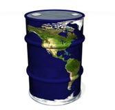 κόσμος πετρελαίου Στοκ φωτογραφία με δικαίωμα ελεύθερης χρήσης