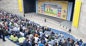 κόσμος ποδοσφαίρου φλ&upsilo Στοκ φωτογραφία με δικαίωμα ελεύθερης χρήσης