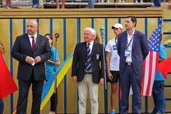 Κόσμος που κωπηλατεί κάτω από 23 πρωταθλήματα 2015 Στοκ Εικόνες
