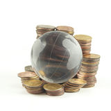 κόσμος πόρων χρηματοδότηση& Στοκ Εικόνες