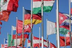 κόσμος σημαιών Στοκ εικόνα με δικαίωμα ελεύθερης χρήσης