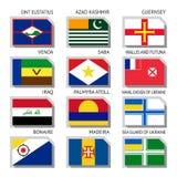 κόσμος σημαιών Στοκ φωτογραφία με δικαίωμα ελεύθερης χρήσης