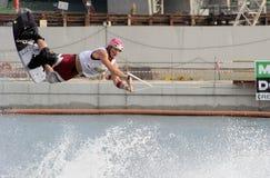 κόσμος Σινγκαπούρης φλυτζανιών του 2008 wakeboard Στοκ Εικόνες