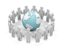 κόσμος συνεργασίας απεικόνιση αποθεμάτων