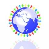 κόσμος συνεργασίας Στοκ εικόνα με δικαίωμα ελεύθερης χρήσης