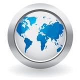 κόσμος σφαιρών κουμπιών Στοκ Εικόνες