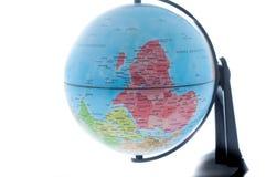 κόσμος σφαιρών της Αφρικής Ευρώπη στοκ εικόνα