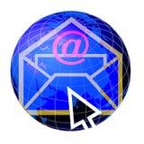 κόσμος ταχυδρομείου 3 σ&phi Στοκ Εικόνες