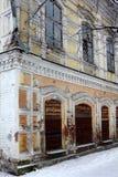 Κόσμος Τουρισμός Η αρχαία εμπορική πόλη Minusinsk Σιβηρία εγκαταλειμμένα τούβλα που χτίζουν το επίγειο μέρος απορριμάτων παλαιό Στοκ φωτογραφίες με δικαίωμα ελεύθερης χρήσης