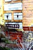 Κόσμος Τουρισμός Η αρχαία εμπορική πόλη Minusinsk Σιβηρία εγκαταλειμμένα τούβλα που χτίζουν το επίγειο μέρος απορριμάτων παλαιό Στοκ φωτογραφία με δικαίωμα ελεύθερης χρήσης