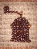 Κόσμος του καφέ Στοκ εικόνα με δικαίωμα ελεύθερης χρήσης