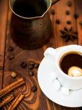 Κόσμος του καφέ Στοκ Φωτογραφίες