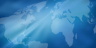 κόσμος χαρτών ανασκόπησης Στοκ Εικόνα