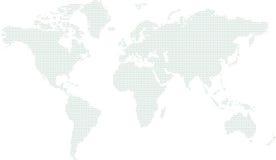 κόσμος χαρτών κύκλων Στοκ εικόνες με δικαίωμα ελεύθερης χρήσης