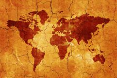κόσμος χαρτών Στοκ φωτογραφίες με δικαίωμα ελεύθερης χρήσης