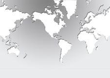 κόσμος χαρτών Στοκ Εικόνα