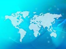κόσμος χαρτών διανυσματική απεικόνιση