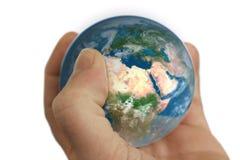 κόσμος χεριών Στοκ Φωτογραφία