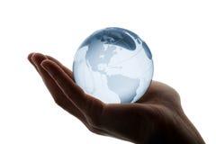 κόσμος χεριών Στοκ φωτογραφία με δικαίωμα ελεύθερης χρήσης