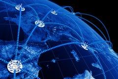 κόσμος δικτύων Στοκ φωτογραφία με δικαίωμα ελεύθερης χρήσης