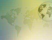 κόσμος 03 χαρτών διανυσματική απεικόνιση
