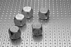κόσμος 2 νομισμάτων Στοκ Εικόνες