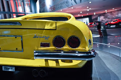 Κόσμος Ferrari στο Αμπού Ντάμπι Ε.Α.Ε. Στοκ Φωτογραφία