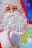κόσμος santa Στοκ εικόνες με δικαίωμα ελεύθερης χρήσης