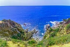 Κόστα Μπράβα, Καταλωνία, Ισπανία στοκ εικόνα με δικαίωμα ελεύθερης χρήσης