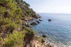 Κόστα Μπράβα, Καταλωνία, Ισπανία στοκ φωτογραφίες με δικαίωμα ελεύθερης χρήσης