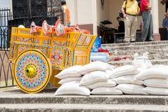 Κόστα Ρίκα oxcart Στοκ φωτογραφίες με δικαίωμα ελεύθερης χρήσης