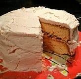 Κόψτε το κέικ Στοκ Φωτογραφίες
